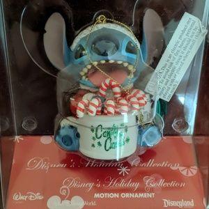 Disney Parks Stitch Motion Ornament